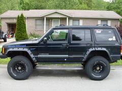 AJ's Offroad Armor V2 Jeep Cherokee XJ - Heavy Duty Fender