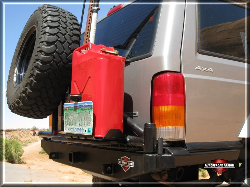 Tanker Tire Carrier Bumper