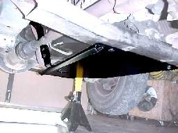 Engine/Transmission Skid Plate: 1993-1998 ZJ