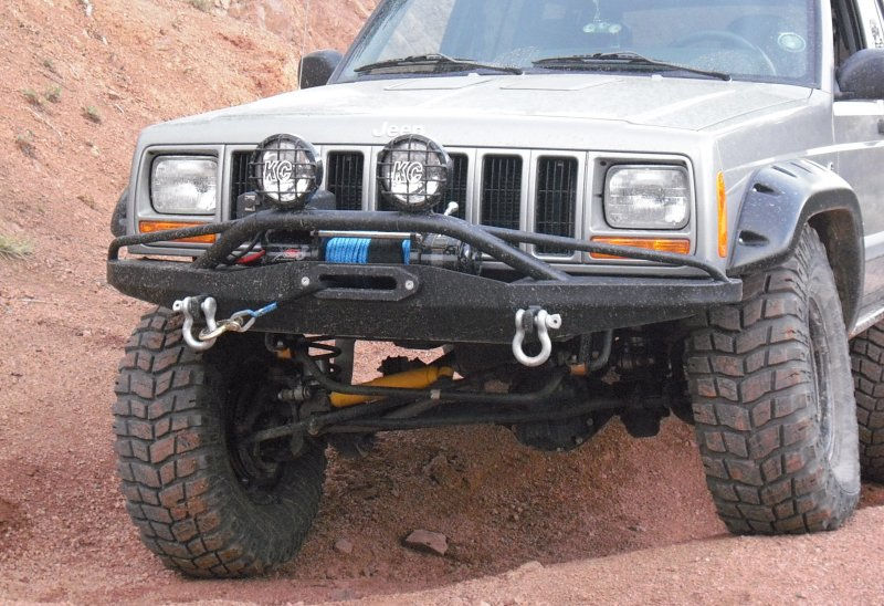 SlikRok Winch Bumper