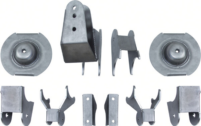 1997-2006 JEEP TJ AND UNLIMITED REAR SUSPENSION BRACKET SET