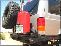 Tanker Tire Carrier Bumper