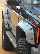 V2 Heavy Duty Fender Flares for the Jeep Cherokee XJ, 97-01 4 door