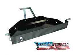 Gas Tank Skid Plate: 2004-2006 LJ Unlimited