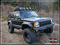 Cherokee Front Non-Winch Bumper