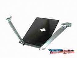 "Long Arm Engine/Transmission Skid Plate for 20"" Dimension: 1997-2006 TJ"